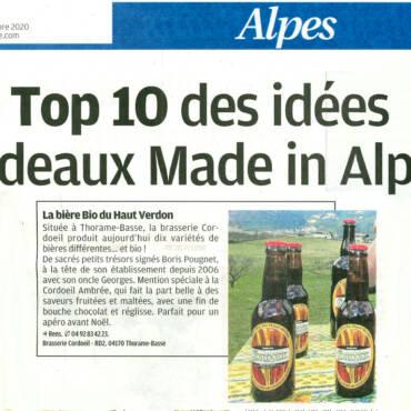 Top 10 des idées cadeaux Made In Alpes