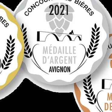 5 médailles à Avignon!